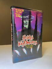 Freddy's Nightmares - On Elm Street: The Series [VHS] Virgin Vision Horror GC!