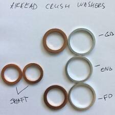 BMW R80, R100 Airhead motorcycle crush washer set, free shipping