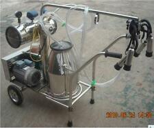 Portable Vacuum Pump Milking Machine Cows - Single Tank - Factory Direct +EXTRAS