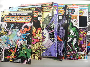 Crisis On Infinite Earths 1-12 All Twelve Issues