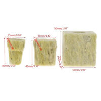 Rockwool Cubes Hydroponic Grow Media Soilless Cultivation Planting Compress