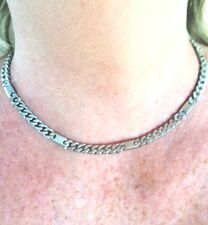 Magnetic Classic Silver Plated Necklet