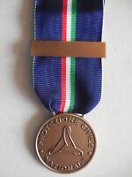 medaglia al merito della protezione Civile Nazionale bronzo + barretta per  incis 58205788c16a