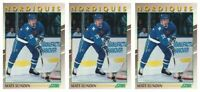 (3) 1991-92 Score Young Superstars Hockey #3 Mats Sundin Card Lot Nordiques