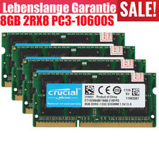 Crucial 2/8/16GB Memory DDR3 1333MHz PC3-10600S 204PIN SO-DIMM Laptop RAM LOT AA