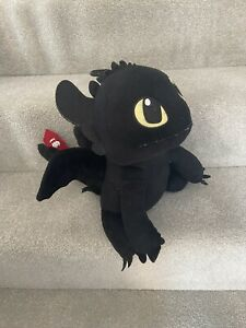 How To Train Your Dragon Toothless Soft Toy Plush