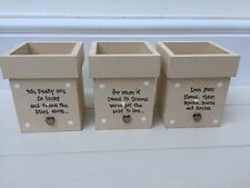 Personalised Shabby Flower Pots.. Chic Granny present