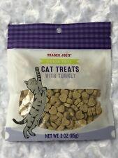 1 Bag TRADER JOE'S  Cat Treats Turkey Soft Chew New Unopened Grain Free BB 2022