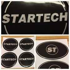 STARTECH BADGE STICKERS CHRYSLER DODGE JEEP SRT CRD ALLOY WHEELS GRILLE TAILGATE