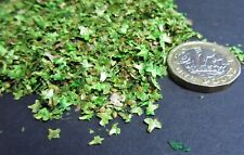 1/35th - 1/32nd scale individual miniature leaves, (Green) Tamiya diorama