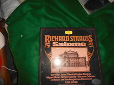 B275 BOHM RICHARD STRAUSS SALOME JONES FISCHER DIESKAU 2 x LP DG DGG STEREO