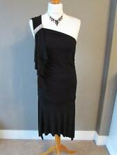 Warehouse Viscose Patternless Sleeveless Dresses for Women