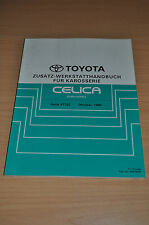 Werkstatthandbuch Reparatur Toyota Celica Cabriolet ST182 Zusatz Karosserie 1990