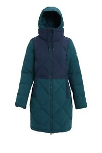 Burton Womens Chescott Down Jacket - Teal  NWTs Size L