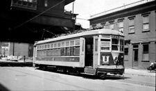 Negative - Third Avenue Railway System Electric Trolley Car No. 1240