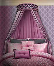 Elegant Geo-Dese Handcrafted Bed Crown - Canopy - Teester
