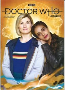 Doctor Who Magazine DWM 566 Jodie Whittaker interview & Cover