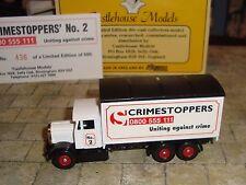 LLEDO  -  1937 SCAMMELL 6 WHEELER TRUCK - RARE CRIMESTOPPERS LTD EDITION PROMO