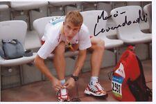 Marcin Lewandowski  Polen Leichtathletik Foto original signiert 390228