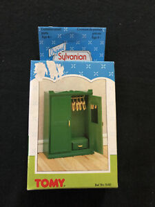Original Sylvanian Families 1987 Large Wardrobe - New In Box