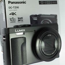 PANASONIC LUMIX TZ90 Digital Camera - Black - Mint Condition
