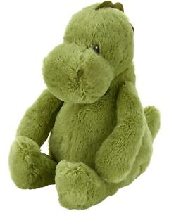"NWT Carters Plush Toy Stuffed Animal Green Dinosaur Dino 10"" Prehistoric Soft"