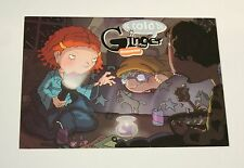 2 Nickelodeon Cartoon As Told By Ginger Sleepover Premier Promo New NOS Postcard
