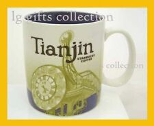 New Starbucks City Collector 16oz Mug China TIANJIN Century Clock 2008 Grande