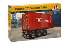 ITALERI 3887 - 1/24 tecnokar 20' container Trailer-NUOVO