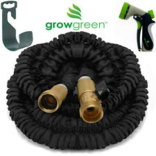 "Heavy Duty Garden Hose 50 Feet Expandable Hose With ""HEAVY DUTY"" NOZZLE INCLUDED"