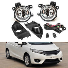 For Honda FIT Jazz 2015 2016 2017 Pair Front Fog Light Lamp Switch Harness Cover