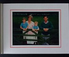 1989 PRINCESS DIANA PRINCE CHARLES SIGNED AUTOGRAPH Christmas card