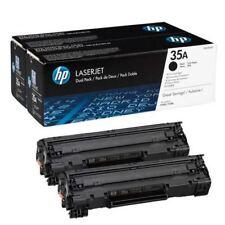 HP 35 NOIR Laserjet Cartouche De Toner (Pack de 2) CB435AD [hpcb 435AD]