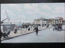 Early PC Clarence Pier & Esplanade SOUTHSEA shows vintage car & Victories Anchor