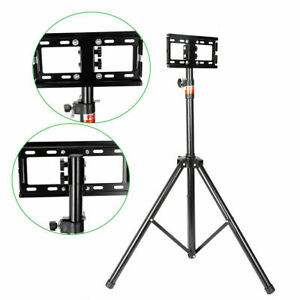 """Portable Tripod TV Stand-Television LCD Flat Panel Monitor Mount18-32""""Adjustable"""