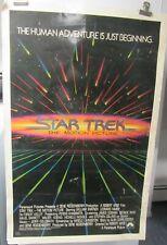 Rare!  Star Trek TMP original 1-sheet teaser poster