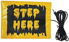 HALLOWEEN STEP HERE PAD FOR ANIMATED ITEMS PROP DECORATION HAUNTED HOUSE