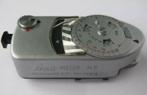 1965 Leitz Leica Meter MR Light Meter Boxed and With Instructions Sold as Seen