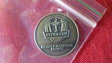 Ryder Cup 2018 Le Golf National Golf Ball Marker