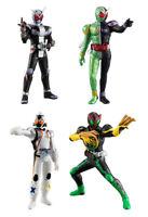 Bandai Kamen Rider HG Figure 1 Gashapon ZI-O Fourze OOO W Double Set 4 pcs