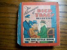 1932 The Adventures of Dick Tracy Detective Big Little Book #707 Chester Gould