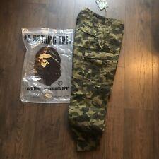 A Bathing Ape / Bape 1st camo cargo Pants - L