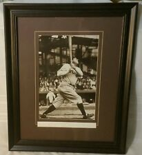 """Babe Ruth The Sultan Of Swat Framed Print 21"""" x 17"""" Baseball Collectible"""