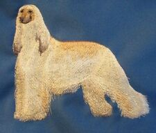 Embroidered Long-Sleeved T-shirt - Afghan Hound C3529 Sizes S - Xxl