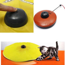 Cool Pet Dog Toy Undercover Cats Meow Play Fabric Moving Mouse For Cat Funny Set