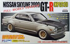 Fujimi ID-142 Nissan Skyline 2000 GT-R KPGC10 1/24 Scale Kit