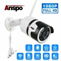 HD 1080P Wireless WiFi IP Camera Outdoor Home Security CCTV Night Vision SD Card