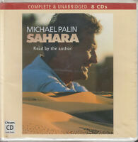 Sahara Michael Palin 8CD Audio Book Unabridged BBC Travel FASTPOST