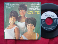 The Supremes - My world is empty without you / Every thing is good... rare TM 45