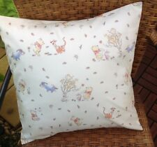 Child's Cushion Cover in Winnie the Pooh Print, Envelope Back, 40x40cm insert